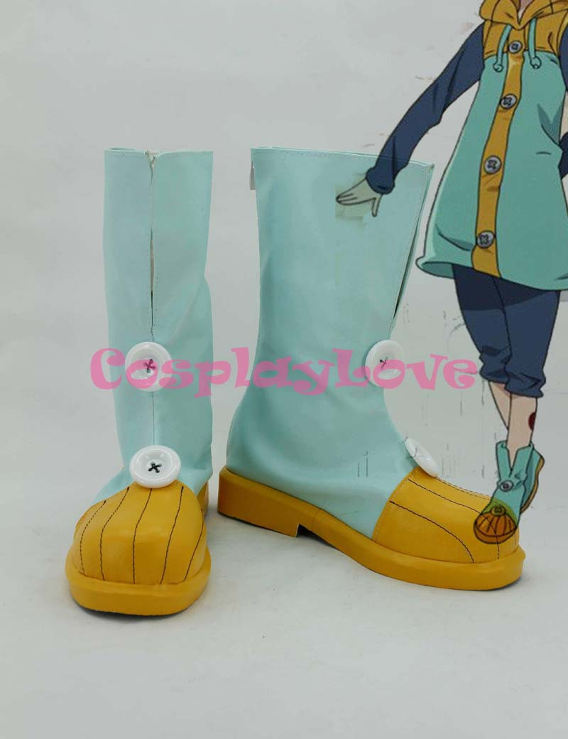 The Seven Deadly Sins King Grizzly s Sin of Sloth Cosplay Shoes (1) ... cc515f64b3226