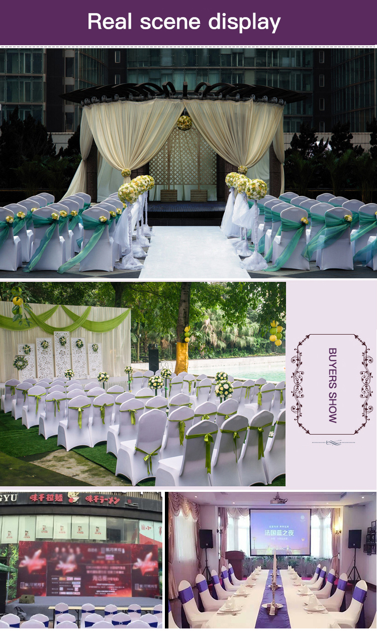 Cheap Price Wedding Chair Sashes Dining Room Slipcovers Covers For Sale