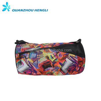 Cheap Colorful Travel Polyester Sport Round Duffle Bag - Buy Round ... 74fb02b8b1290