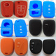 Best Quality Silicone Rubber Smart Key Finder 3 Button Remote Car key housings Ring Fobs shell for Holden Commodore