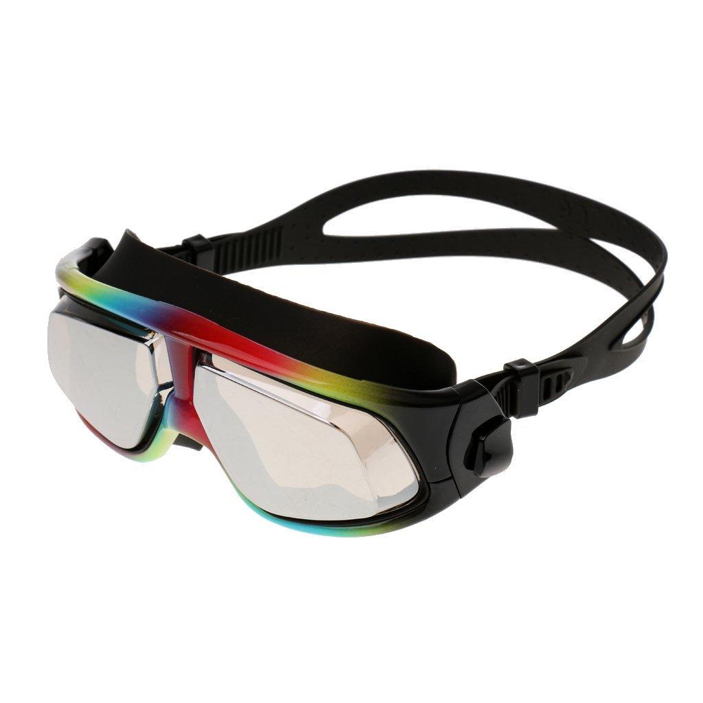 9b90c6338b12 Homyl Swim Goggles Racing Swim Goggles - Soft Nose Piece - Premium UV  Protection Anti-