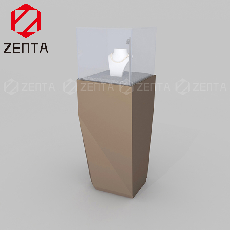 ZENTA GIass Custom 디스플레이 보석 건 Fixtures