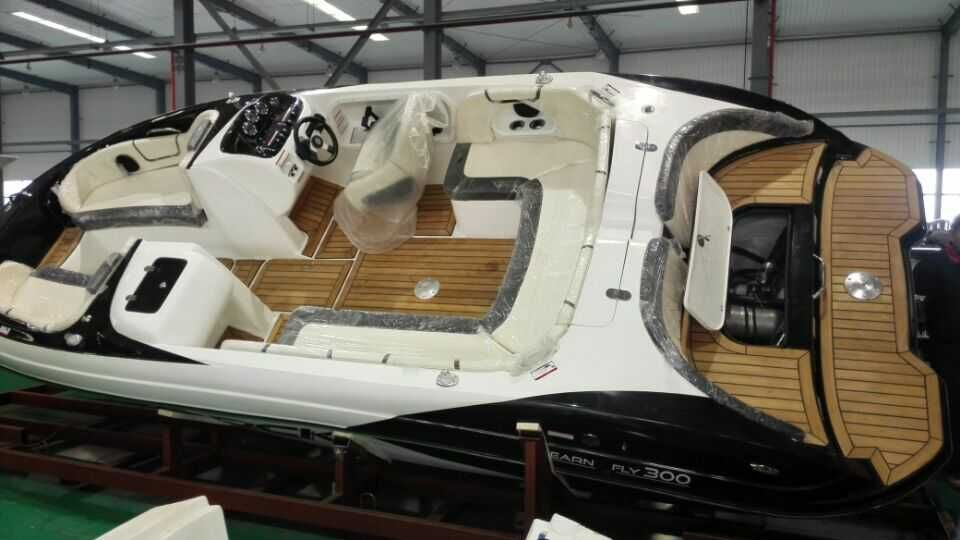 High Speed Sport Power Boat Fishing Mini Yacht With Ce