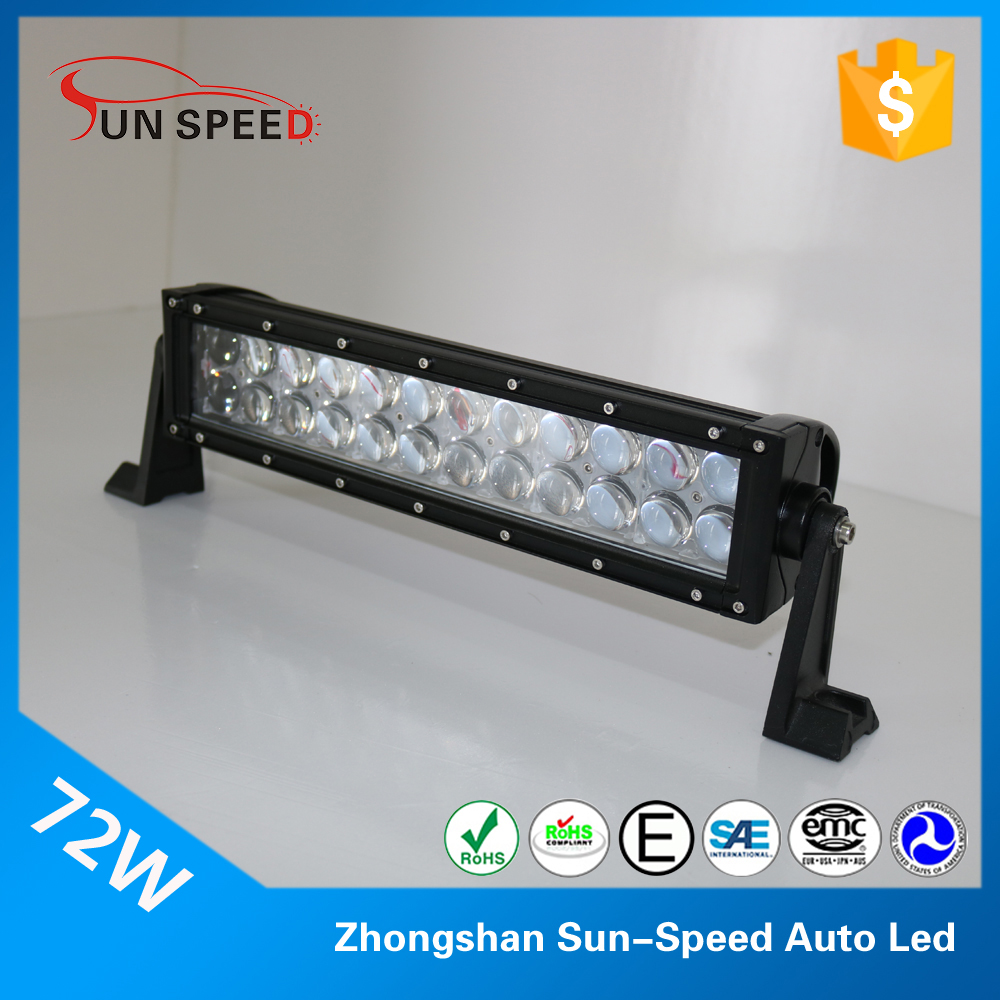 Offroand club hot products small size light bar 36w car working lamp dual row 7.5' motorcycle led bar light