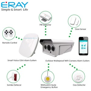 Remote Control gsm wireless security camera with sim card