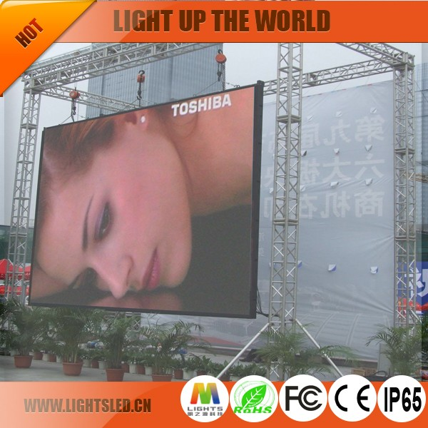 Top Quality Outdoor P6 led display banners with good quality