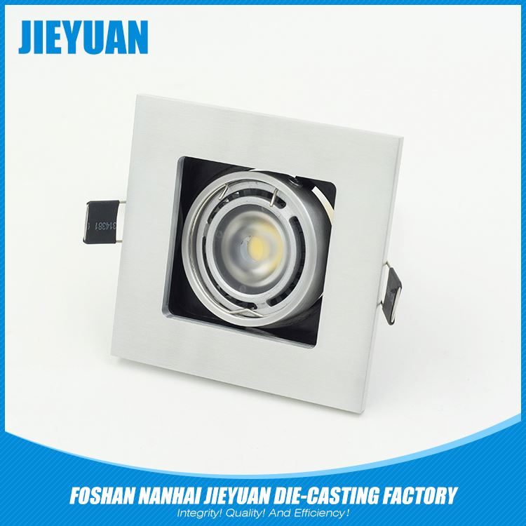 aluminium track light high bay /shell/enclosure/accessories led flood light housing