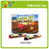 Newly metal pull back train set with 3 coach,Pull back toy small diecast train