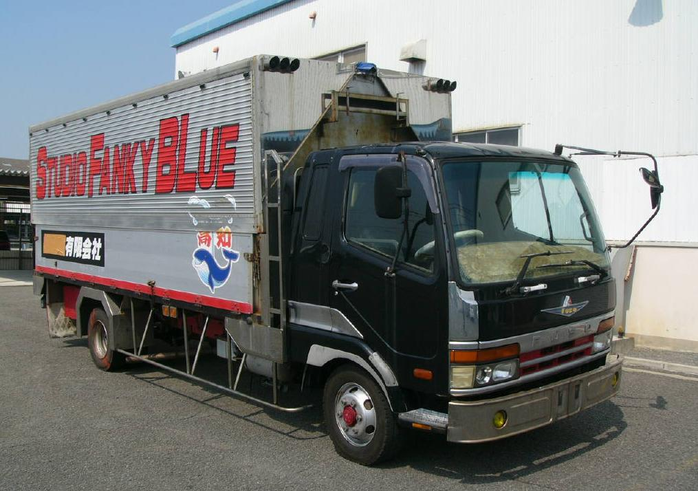 Mitsubishi Fuso Fighter Truck / 6d17 Engine