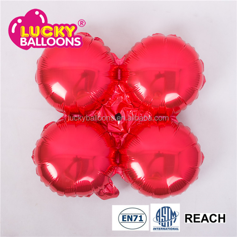 Merry Christmas decoration soil color round foil balloon arch stand