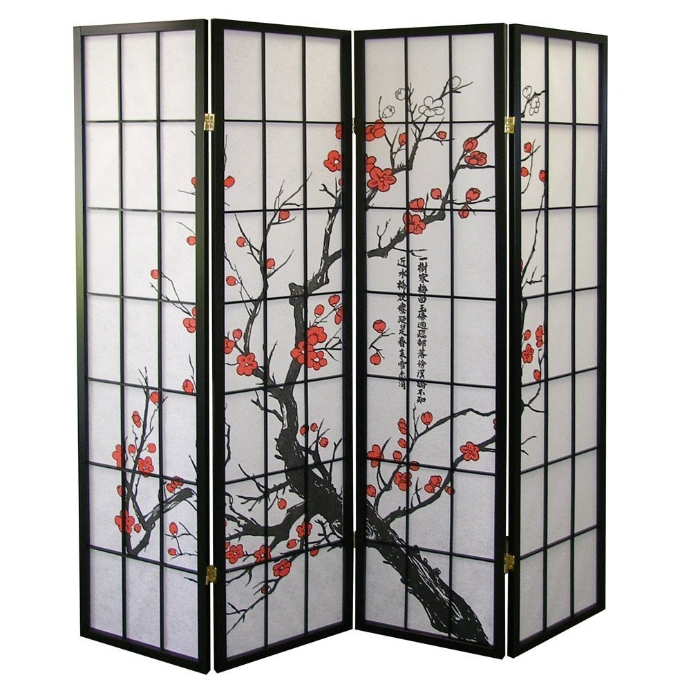 4 Panel Folding Room Shoji Screen Divider Product On Alibaba