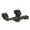 25.4-30mm gun accessory tactical rifle airsoft scope mount for hunting airsoft