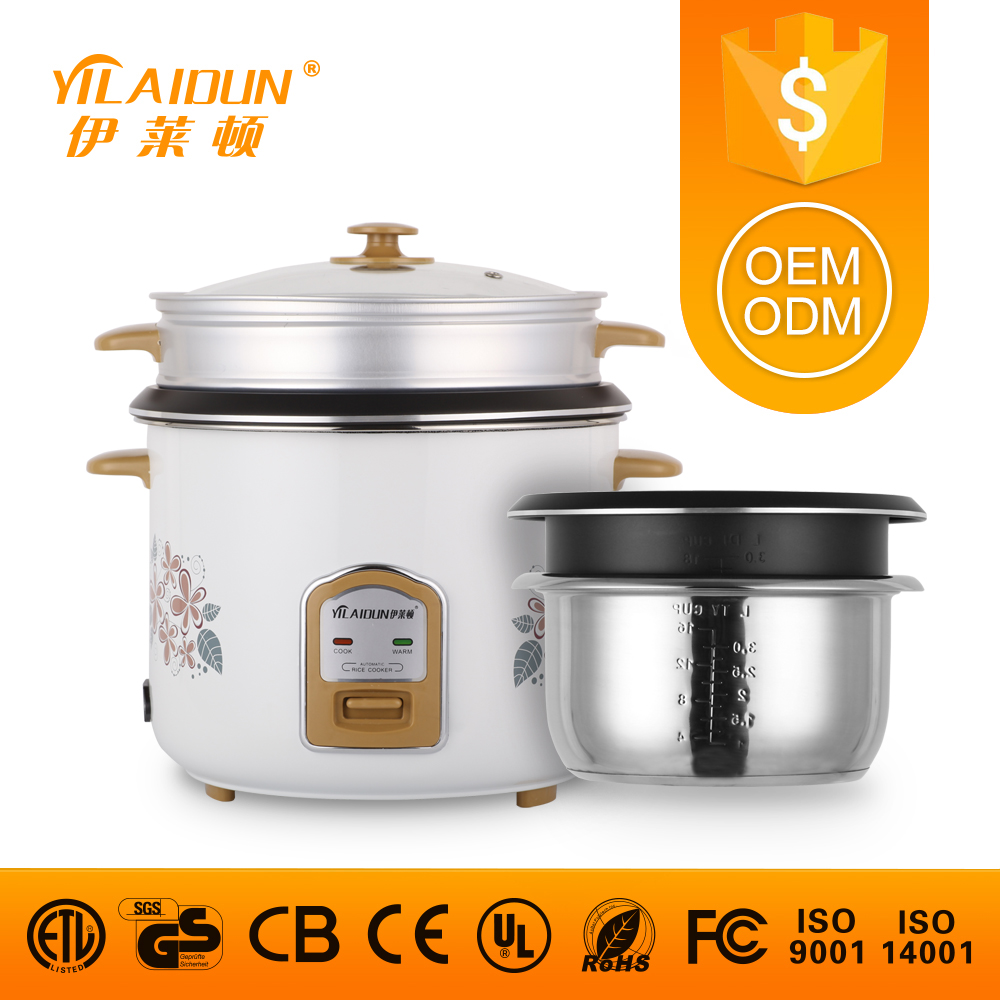 Multifunction mini multi cylinder shape guangdong economic durable electric rice cooker with high quality and food steamer