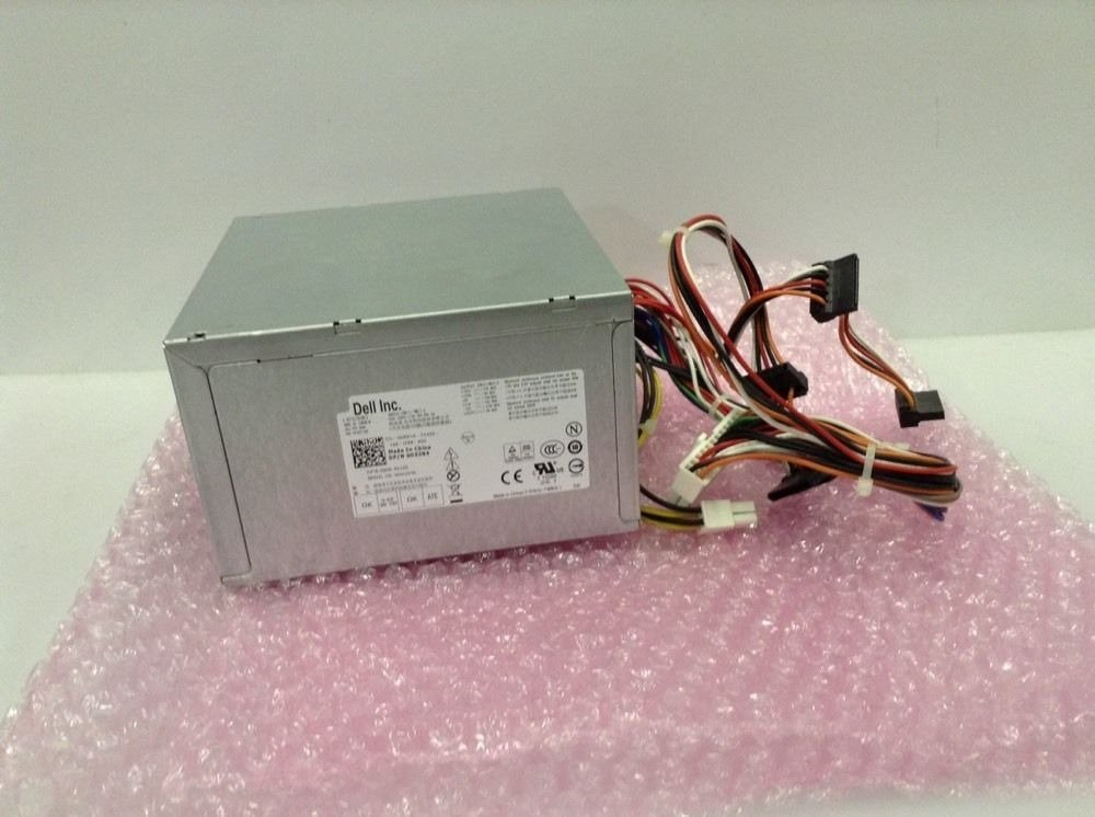 Genuine Dell 265W Watt 053N4 D3D1C 9D9T1 Optiplex 390, 790, 990 SMT Small Mini Tower Power Supply Unit PSU Compatible Part Numbers: YC7TR, 9D9T1, GVY79, 053N4, D3D1C, Dell Model Numbers : F265EM-00, AC265AM-00, L265EM-0, H265AM-00, L265AM-00