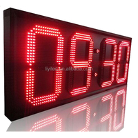 20 inch Digital 7 segment display 4 digit wifi temperature led display / led gas price sign