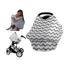 Nursing Baby Cotton Fabric soft Walker Stroller Tollder Baby Car Seat Cover