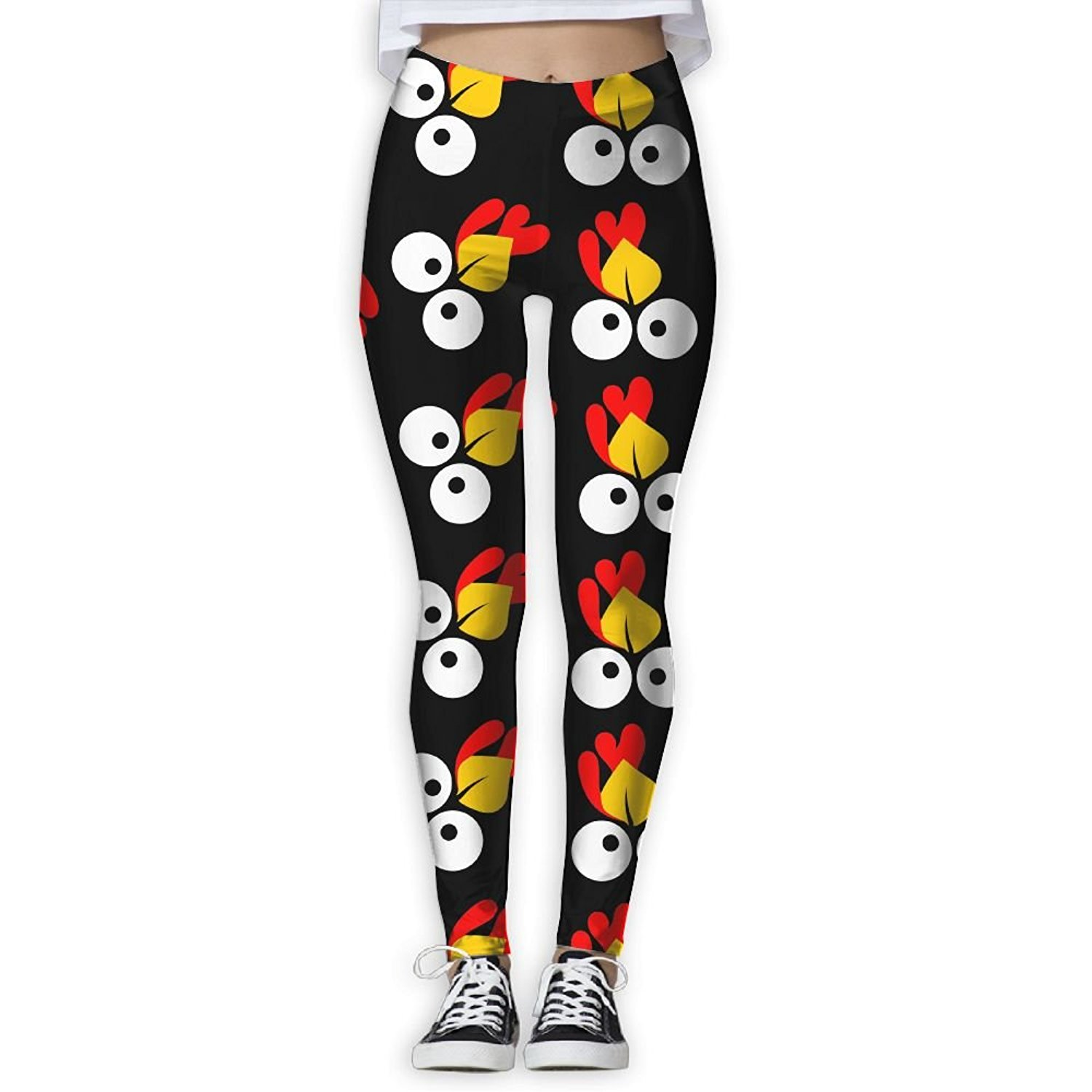 73173046f633f Buy YDBM Cute Turkey Face Women Printed Yoga Pants Elastic Tights Workout  Running Leggings in Cheap Price on m.alibaba.com