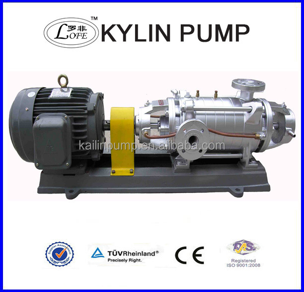 D/DG multistage structure horizontal centrifugal pump electric power