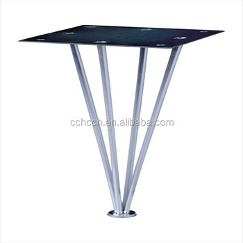 Hot Sale Tapered Stainless Steel Hairpin Coffee Table Legs