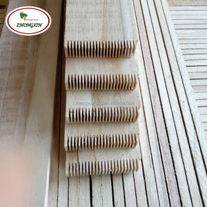 Paulownia pine grade edge glued finger joint wood board from china factory wood timber