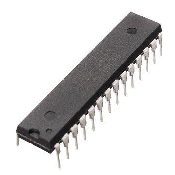 Atmega 328p Microcontroller - Atmega 328p Chip - DIP28 ATmega328P-PU MCU IC Chip With Arduino UNO Bootloader ( Atmega328p Microcontroller )