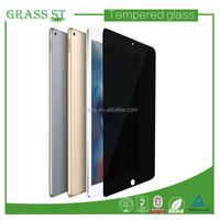 Tempered glass 180 degree anti spy perfect cut fit screen protector for ipad pro