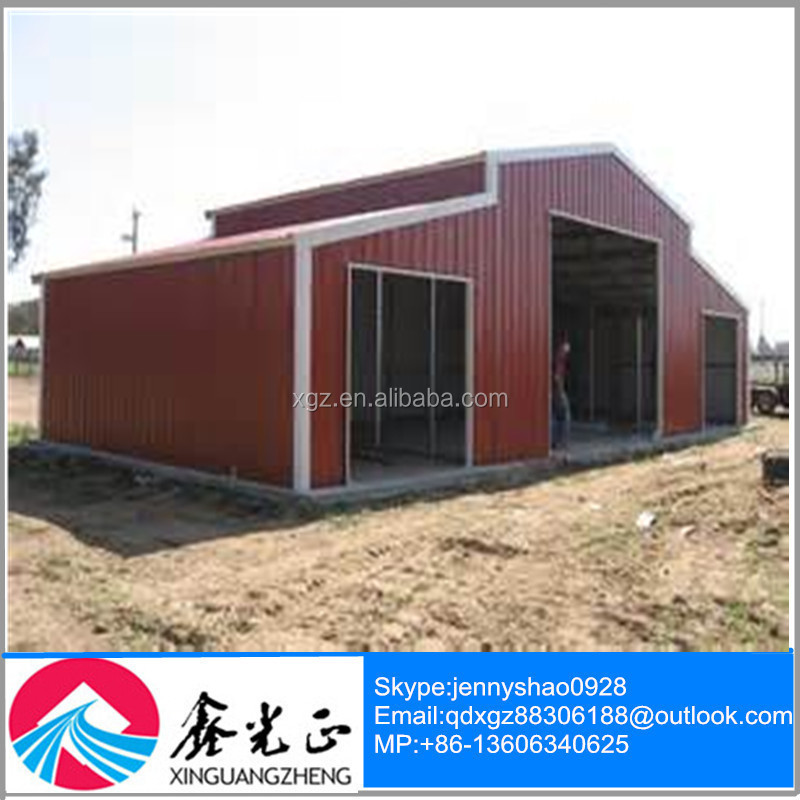 Pre-fabricated Light Steel Garage/Carport