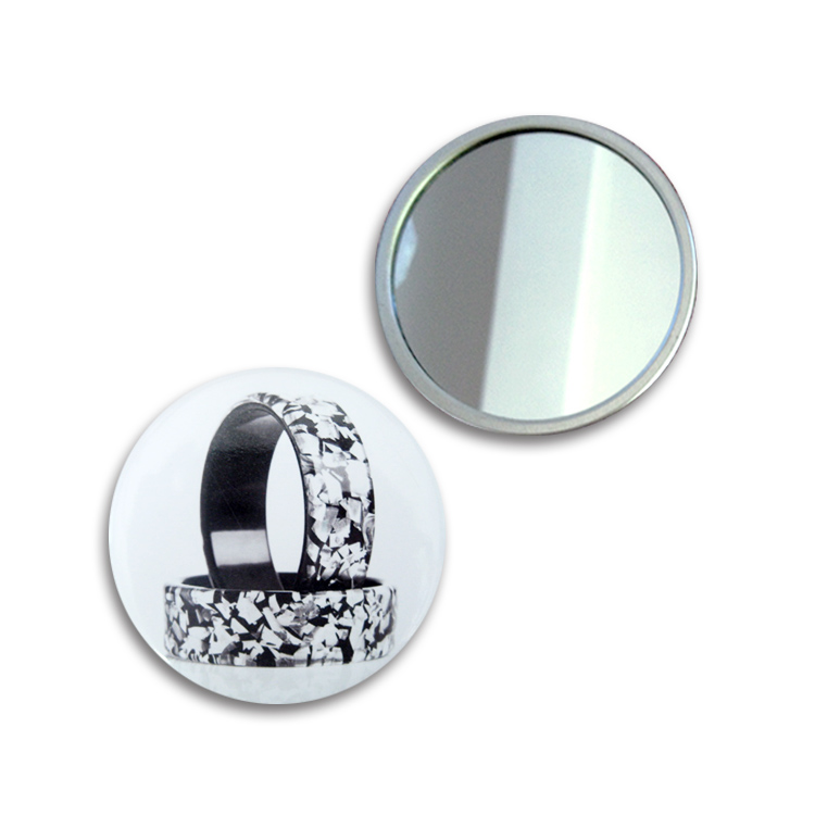 The small metal hand held mirrors wholesale round metal for Wholesale mirrors