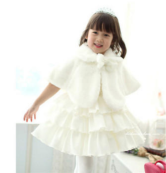 b535d14e1a006 Hot Selling High Quality Baby Girls Fur Coat Christmas Cloak Style Coat  Pink And White Girl Winter Princess Dress Coat - Buy Fancy Girls Coat For  ...