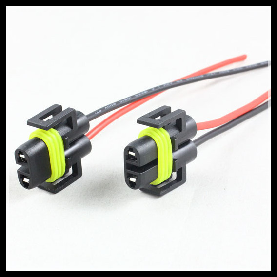 HTB1cJWoGXXXXXcfXVXXq6xXFXXXN h8 h9 h11 880 881 female led socket adapter wiring harness car led