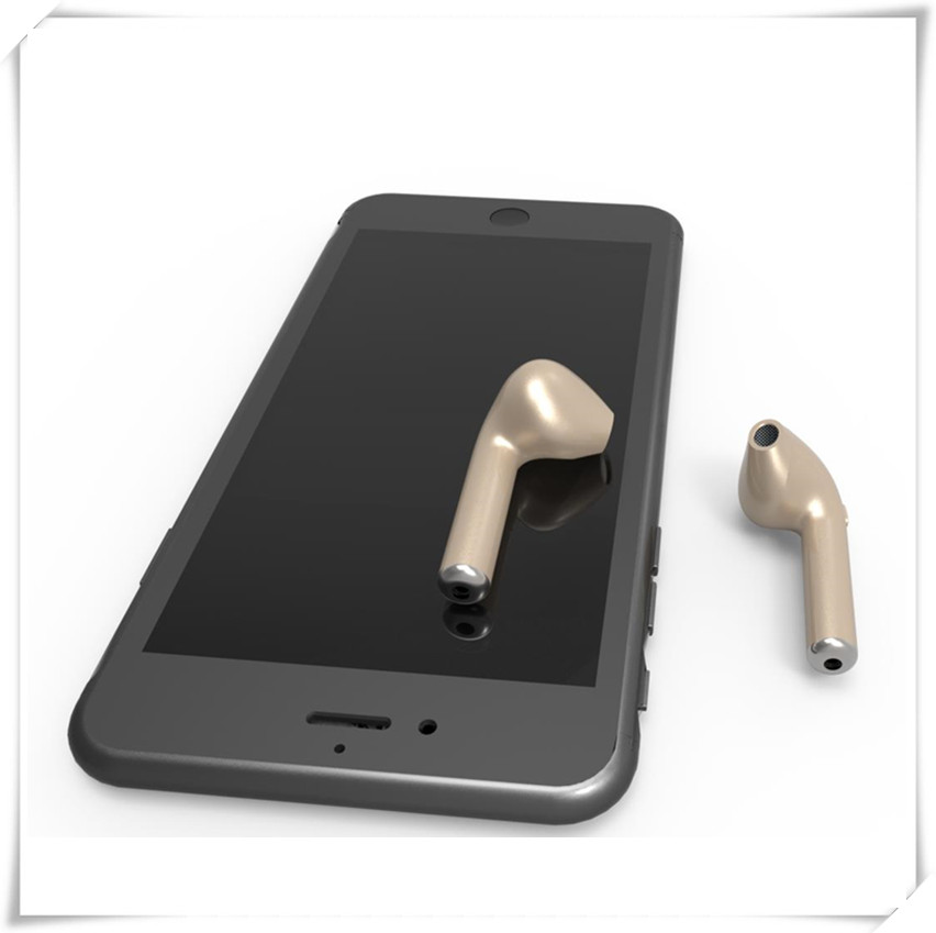 HBQ I7 Mini Bluetooth Earbud Single Wireless Invisible Headphones Headset With Mic Stereo bluetooth Earphone FOB price