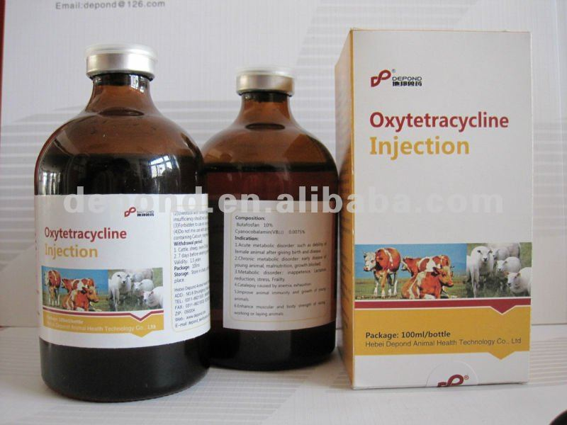 oxytetracycline injection 10%-30% antibiotic finish medicine