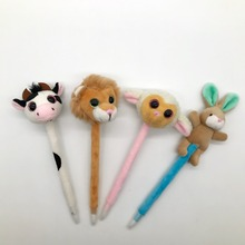 Promotional Plush Toy Pen Plush Animal Ball Pen