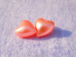 5g Pink Heart Shape Bath Oil Beads Tiny Bath capsule