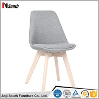 cheap price indoor home use fabric cover dining chair