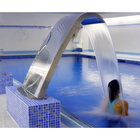 Swimming Pool Waterfall Water Curtain Spa Water Jet Massage Equipment