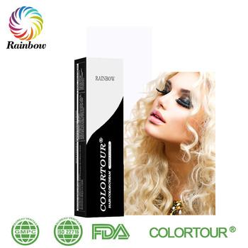 Colortour Permanen Warna Sihir Pewarna Rambut Henna Hitam Mudah