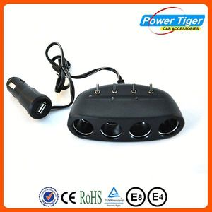 Top selling universal cigarette lighter car 12 plug 24v