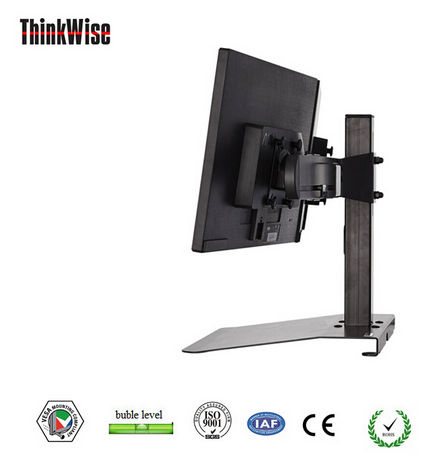Low price iron free standing single lcd monitor arm - Thinkwise BL101