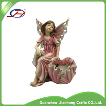 wholesale customized products angel garden decoration statues resin fairy