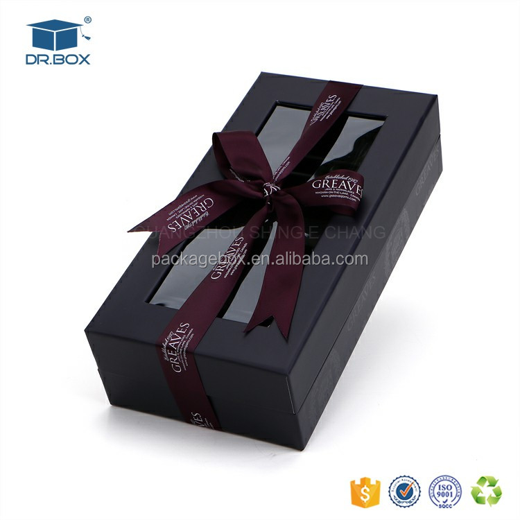 27 x 14 x 7 paper packaging box Brown boxes chocolate truffle boxes for chocolate packaging