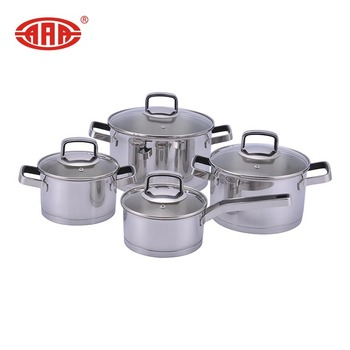 Wholesale modern style stainless steel cookware set