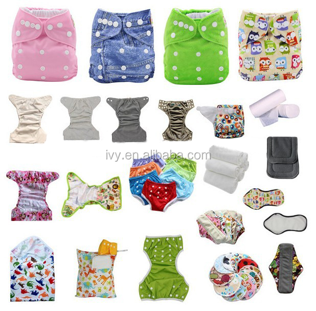 China Products Reusable Pocket Minky Outer One Size Washable Cloth Diaper