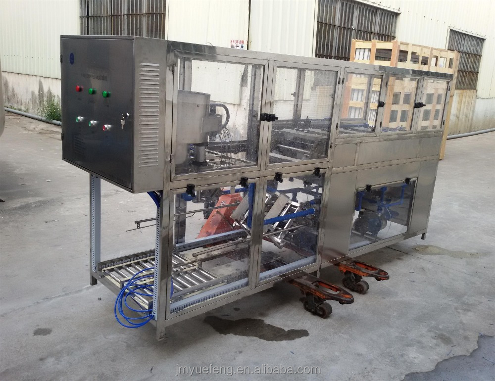barrel water packaging completed line filling machine/monoblock 3 in 1 filling machine