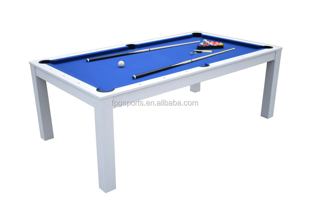 7ft 2 in 1 Dining Top Pool Table BTW706