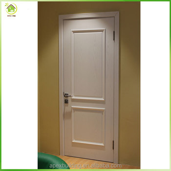 White lacquer mdf Pu coated solid wood interior panel doors design & White Lacquer Mdf Pu Coated Solid Wood Interior Panel Doors Design ...