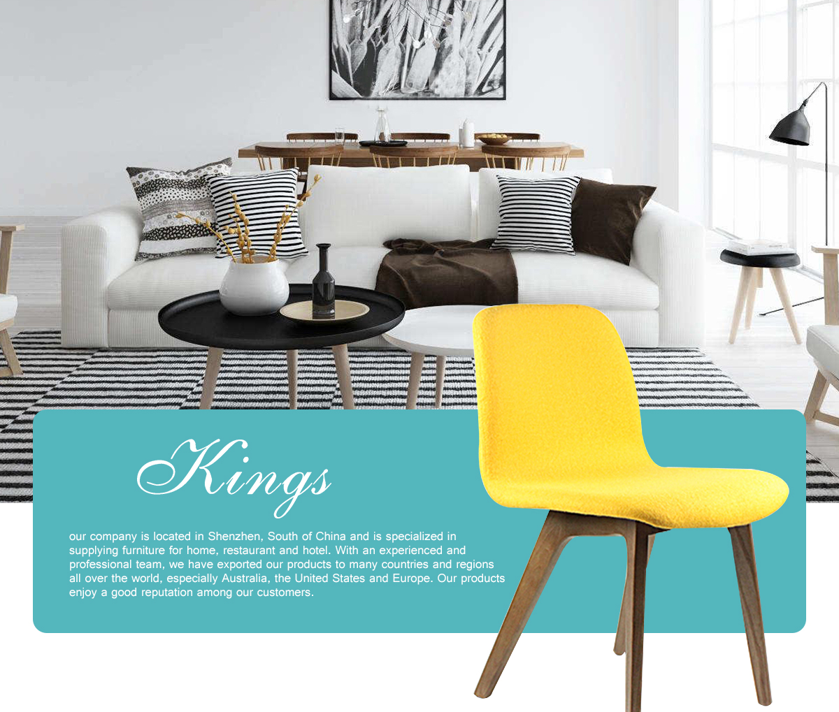 Shenzhen Kings Furniture Co., Ltd. - Furniture, Dining Chair