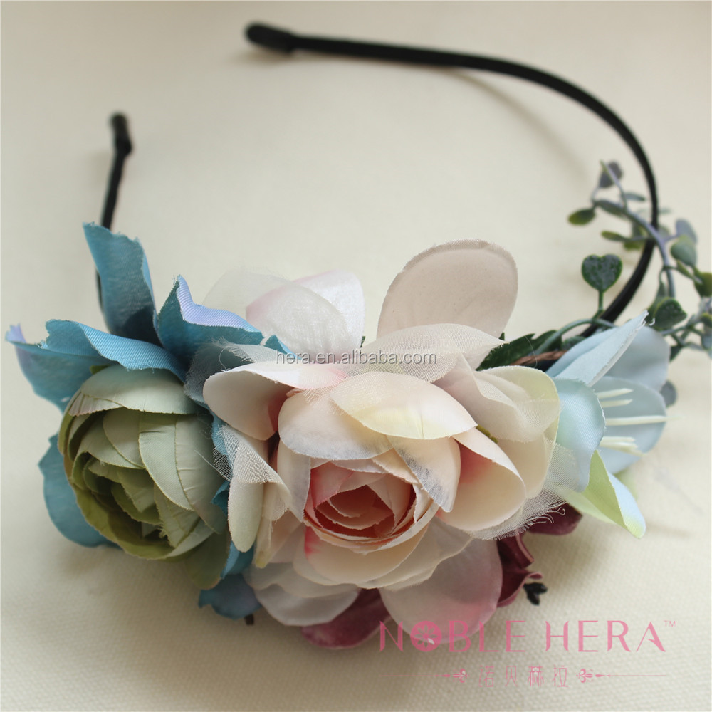 Artificial Handmade Japan Flower Headband Crown For Wedding Buy