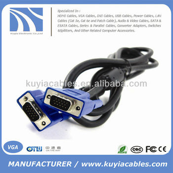 Superior VGA Cable Color Code With Ferrite
