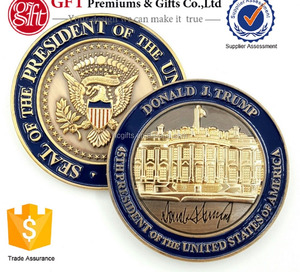 Factory Price High Quality Custom Soft Enamel 3D US Presidential Inauguration Commemorative Coins